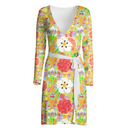 4160 Tuesdays Wrap Dress #4
