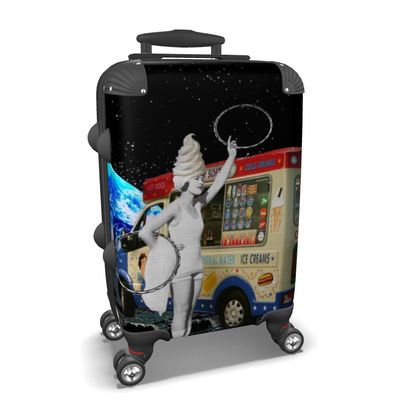 Miss Whippy Hooping in Space Suitcase