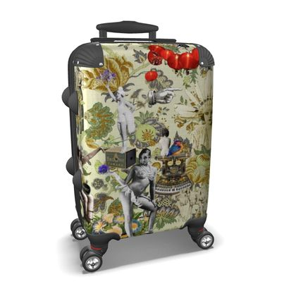 The Muse is Here Suitcase