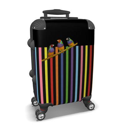 Graphic Birdies Suitcase