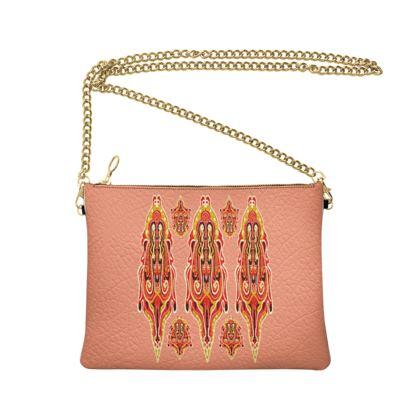 Cross Body Bag -Jamaliha Pink