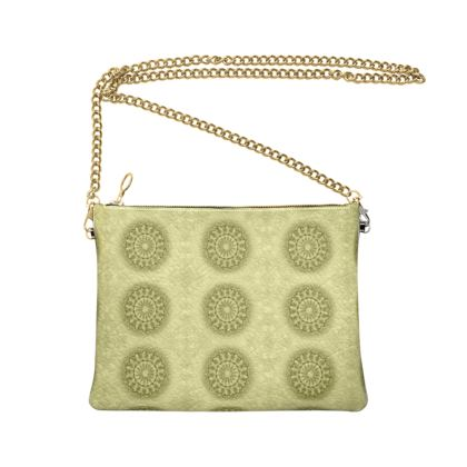 Cross Body Bag - Azina Green