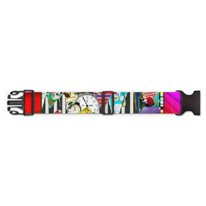 Birds and Bunting Luggage Strap