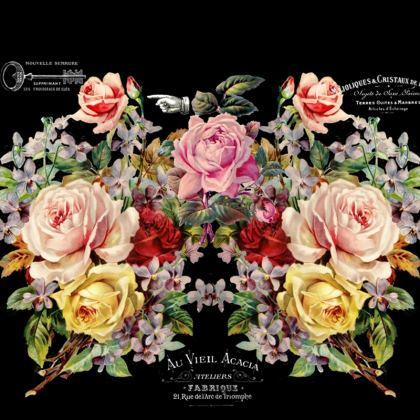 Nuit des Roses Luggage Tag