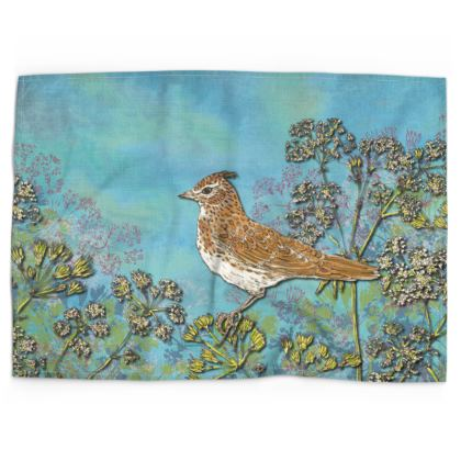 Skylark Tea Towel