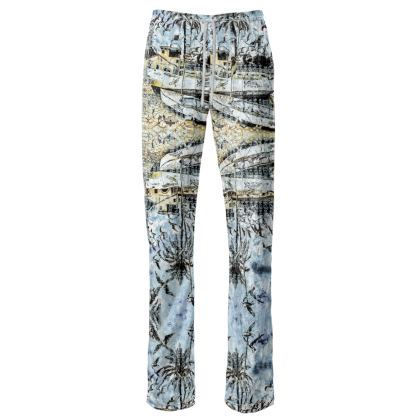 229,- Damenhose JUMP-IN Indian Summer crushed Velours size M