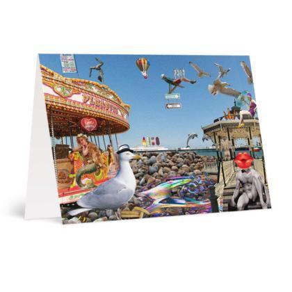 Brighton Beach A6 Greetings card Packs