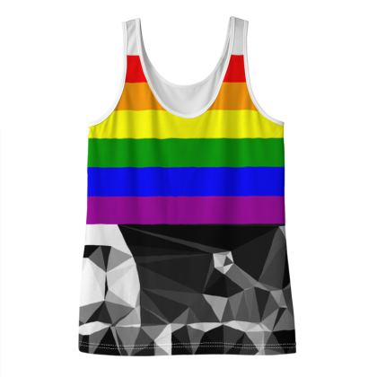 Rock Pride  Ladies Vest Top