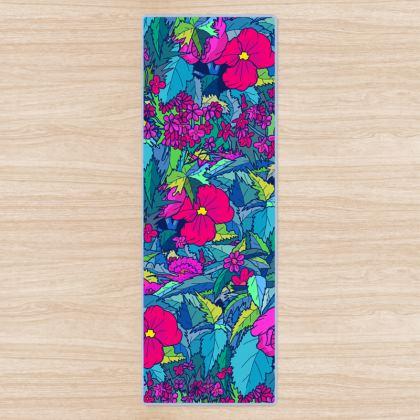 Yoga Mat - summer floral
