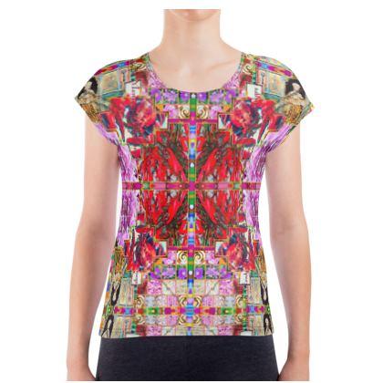 Damen T-Shirt #ninibing34 MONTENEGRO PINK size S