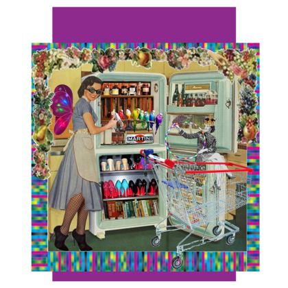 What's in The Fridge Today? Luggage Tag