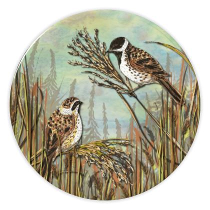 Reed Buntings China Plate