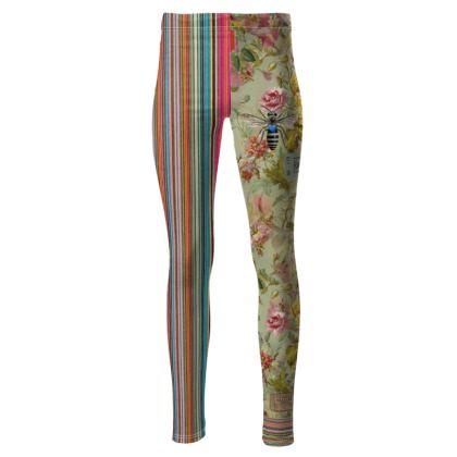 Flower Festival High Waisted Leggings