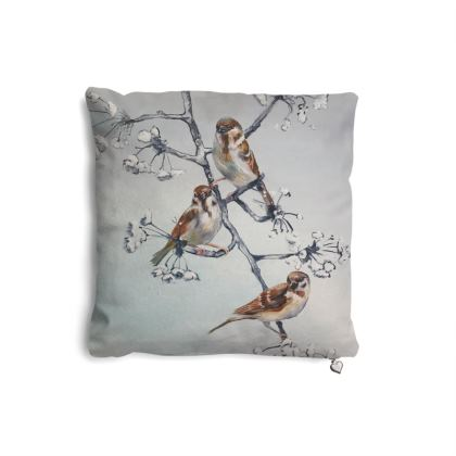 Gorgeous little sparrow pillow set
