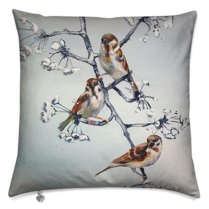 Sparrow Cushion