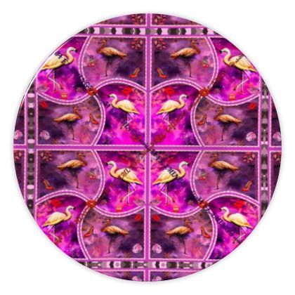 69,- Porzellanteller #ninibing34 im zauberhaften FLAMINGO Design