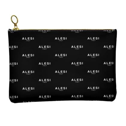ALESI ITALY VINTAGE LEATHER CLUTCH BAG