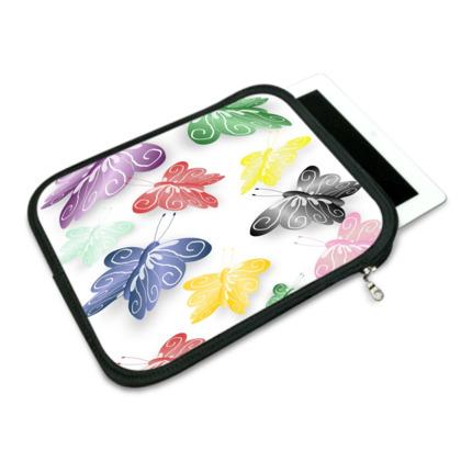 Butterfly Design iPad Slip Case