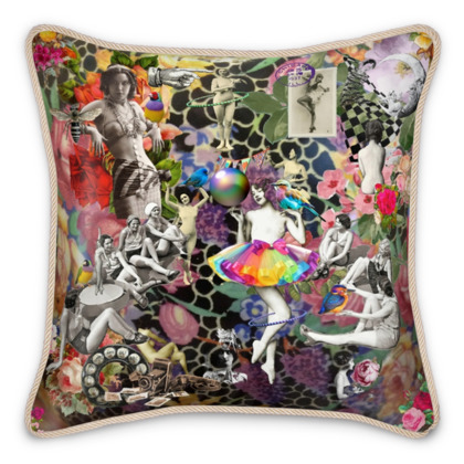 The New Tutu Silk Cushion