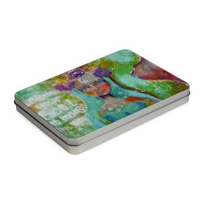 Mermaid Pencil Case Box