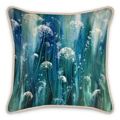 Wildflowers Silk Cushions