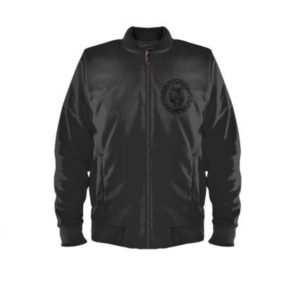 Alesi Custom Bomber Jacket- Black/Black