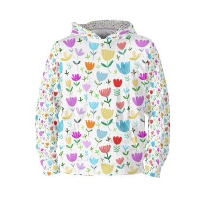 Painted meadow hoodie