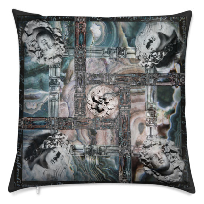 Marble Sculptures - Velvet Cushion