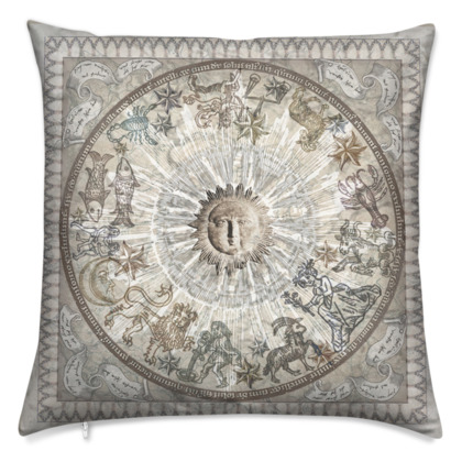 Zodiac - Velvet Cushion
