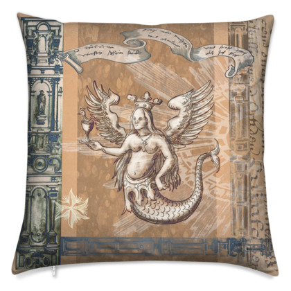 Melusine - Velvet Cushion