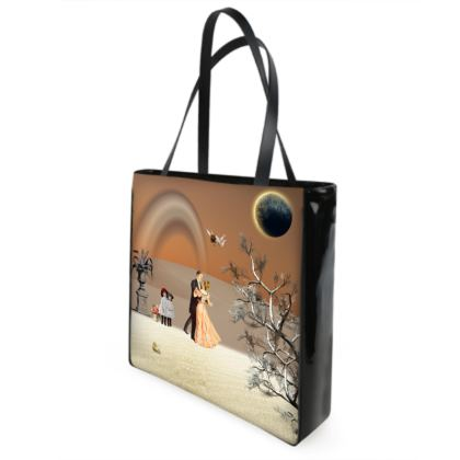Victorian Era inspired Shopper Bag