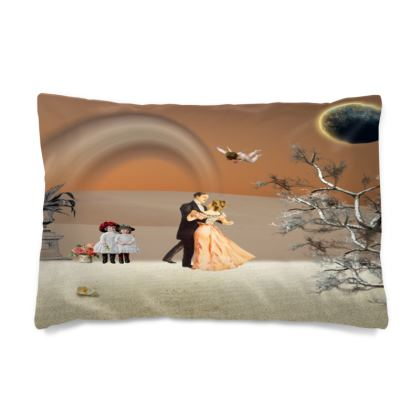 Victorian Era inspired Pillow Case