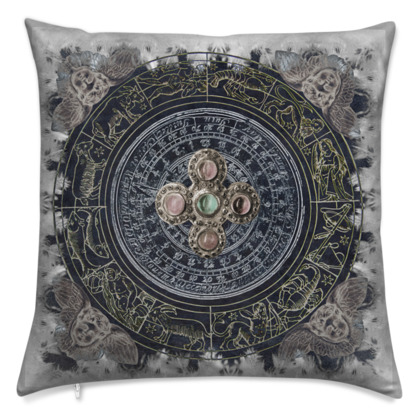Horoscope - Velvet Cushion