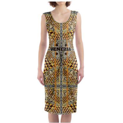 229,- Bodycon-Kleid size XL 42 VENEZIA #ninibing34