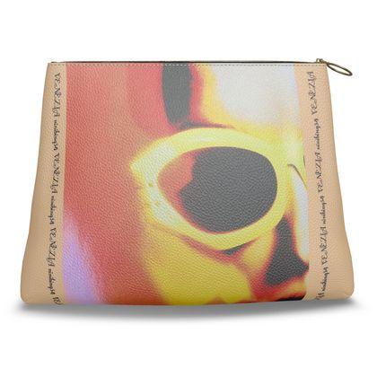 Clutch-Tasche aus feinem ital. Nappaleder VENICE