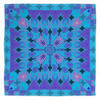 Blue and Purple Kaleidosope