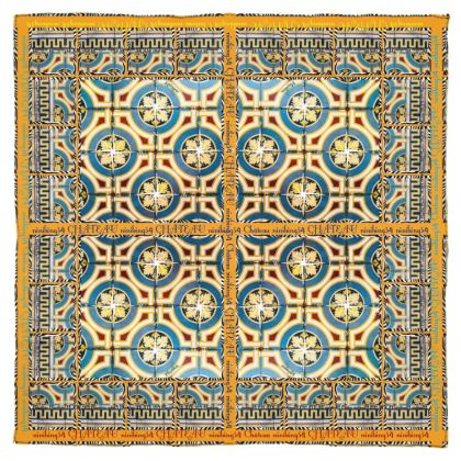 185,- Schal/Halstuch 115 x 115 cm Musselinen Château Design #ninibing34