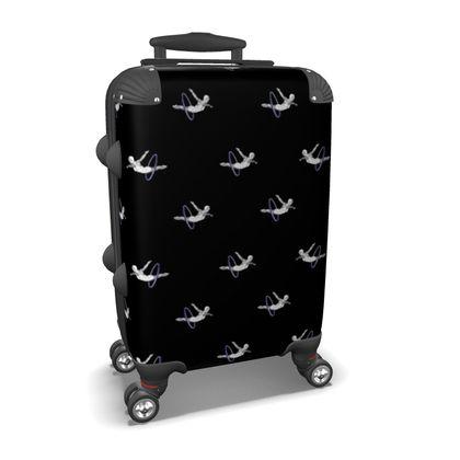 Dive Hooping Black Suitcase