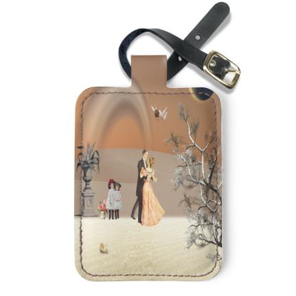 Victorian Era inspired luggage  Tag