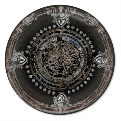 Dark Collection - Round Coaster Trays
