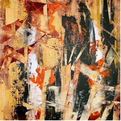 Bamboo Cushion by Alison Gargett