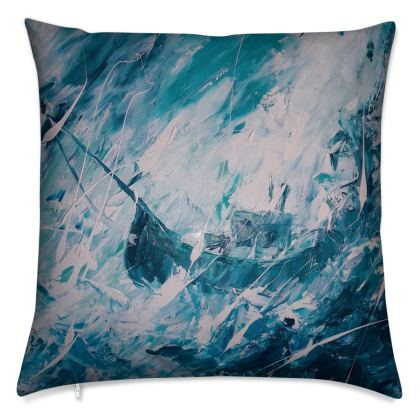 The Storm Cushion by Alison Gargett