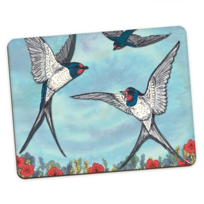 Summer Swallows Placemats