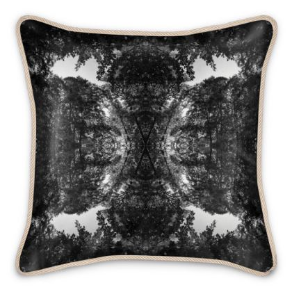 Silk Cushion Silva