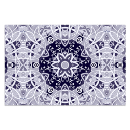 """blue and white floral decorative - Sarong #1 - Classic Long - 66'x44"""" (167cmx110cm)"""