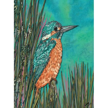 Kingfisher Tray