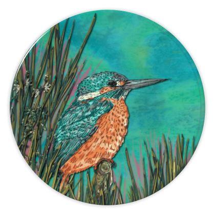 Kingfisher China Plate