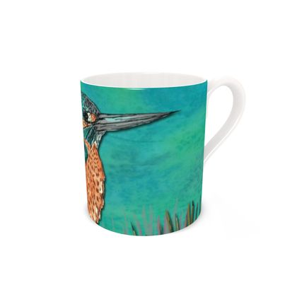 Kingfisher Bone China Mug
