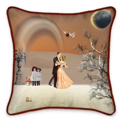 Victorian Era inspired Silk Cushions