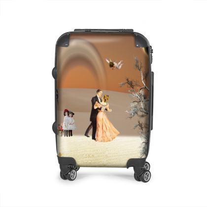 Victorian Era inspired Suitcase